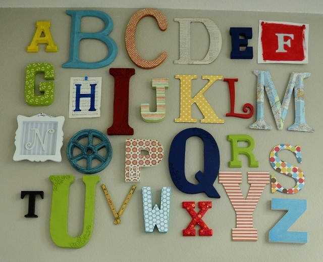 Featured Image of Alphabet Wall Art