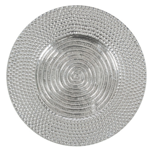 Aluminium Antique Round Wall Art | Temple & Webster Throughout Round Wall Art (Image 2 of 25)