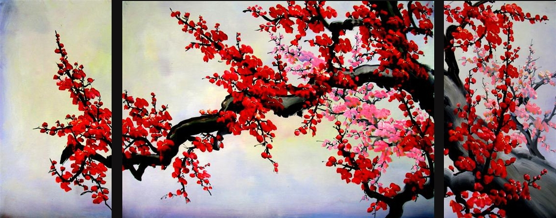 Amazing Asian Painting Asian Wall Art Asian Artwork For Asian Wall pertaining to Oriental Wall Art
