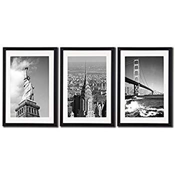 Amazon Com New York City Nyc Skyline Skyscraper Canvas Print Wall For Nyc Wall Art (View 14 of 25)
