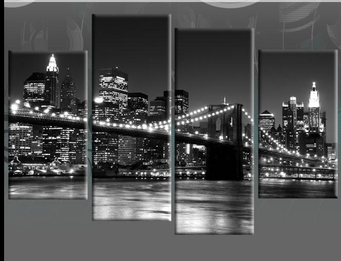 Amazon Com New York City Nyc Skyline Skyscraper Canvas Print Wall Regarding Nyc Wall Art (View 16 of 25)