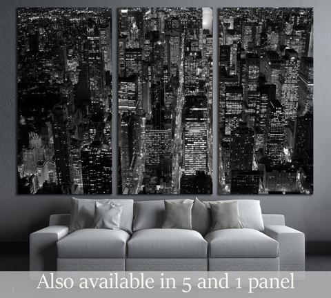 Amazon Com New York City Nyc Skyline Skyscraper Canvas Print Wall With Regard To New York Wall Art (Image 4 of 25)