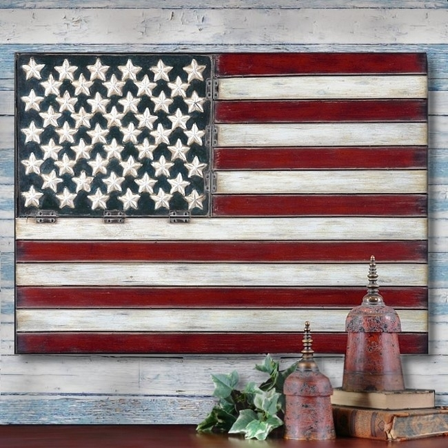 Featured Image of American Flag Wall Art