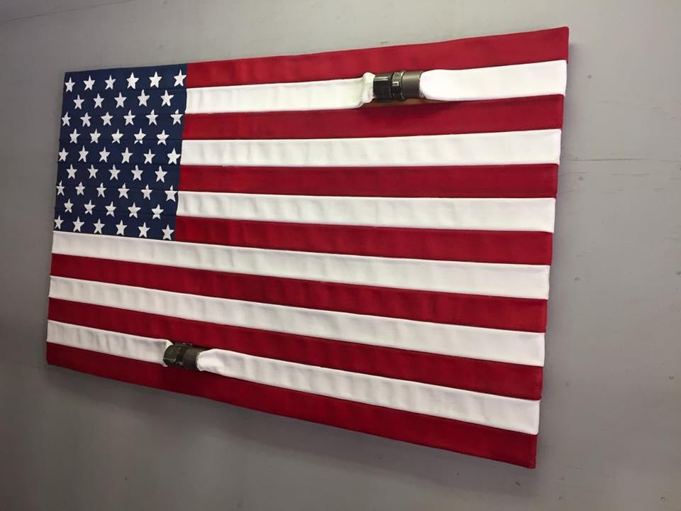 American Flag Wall Art Pallet : Andrews Living Arts – Very Within American Flag Wall Art (View 5 of 10)