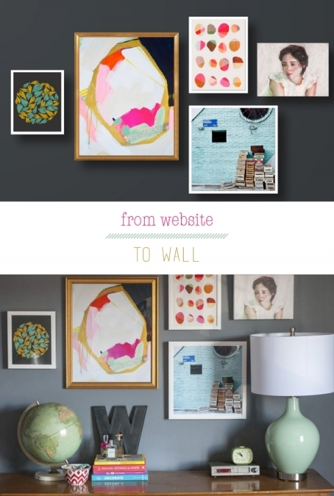 An Artfully Custom Wall – Dream Green Diy For Artfully Walls (View 3 of 10)