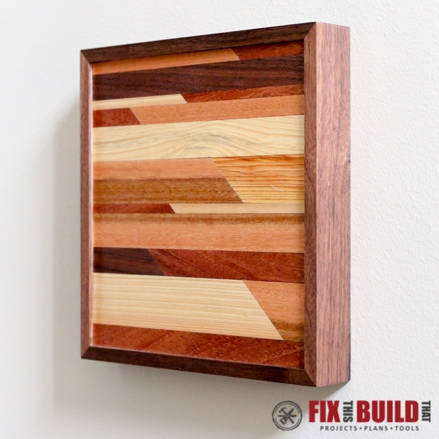 Ana White | Modern Wooden Wall Art – Diy Projects For Diy Wood Wall Art (Image 10 of 25)