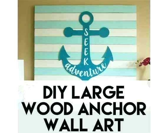 Anchor Wall Art Nautical Anchor Wall Art – Sorenstetson With Anchor Wall Art (Image 5 of 25)