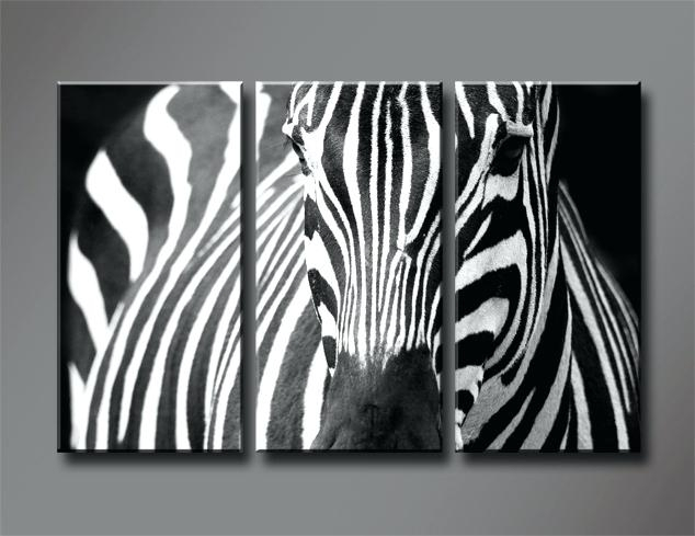 Animal Print Canvas Wall Art Zebra Prints On Canvas Zebra Canvas For Zebra Canvas Wall Art (View 5 of 25)