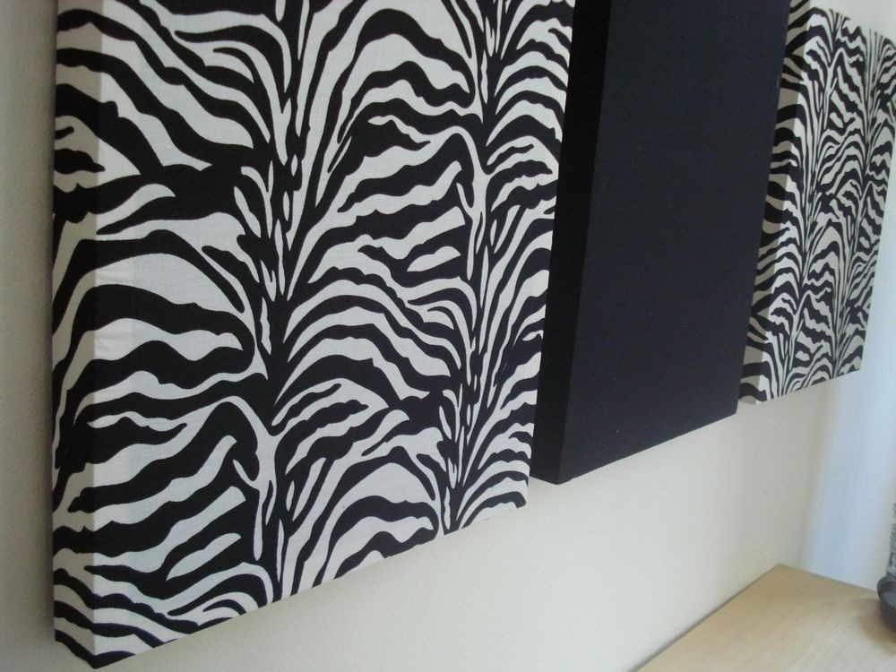 Animal Zebra Print Wall Art Simple Themes Phenomenal Canvas Lisa Regarding Zebra Canvas Wall Art (View 11 of 25)