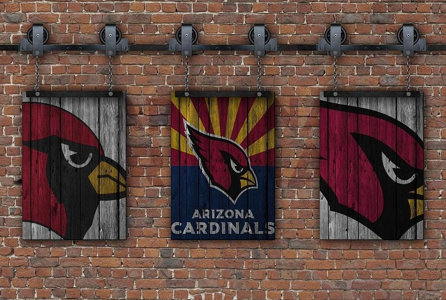 Arizona Cardinals Brick Wall Photographjoe Hamilton With Regard To Arizona Wall Art (Image 8 of 25)