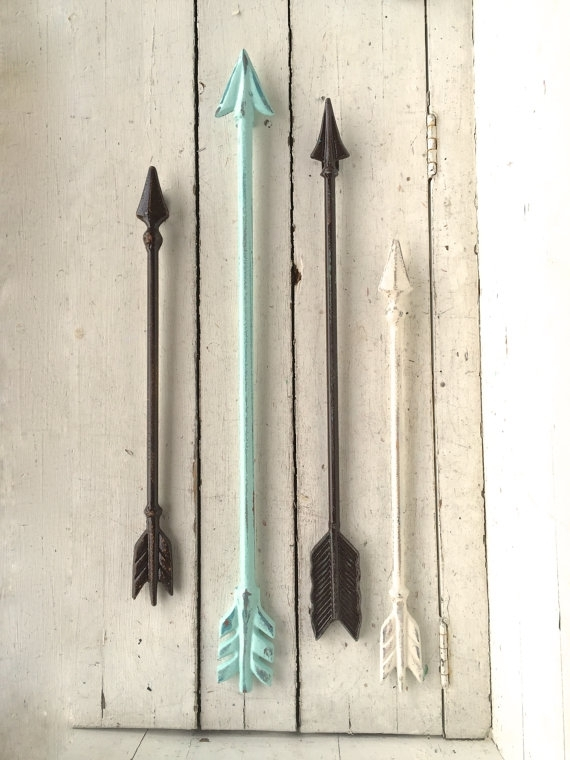 Arrow Wall Art, Arrow Wall Decor, Arrow Decor, Arrow Wall Hanging Regarding Arrow Wall Art (Image 6 of 20)