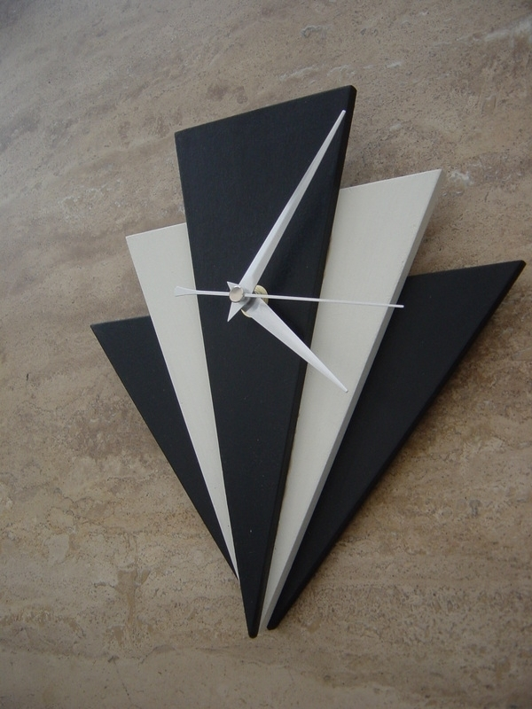 Art Deco Style Clocka Throughout Wall Deco Clock Prepare In Art Deco Wall Art (View 25 of 25)