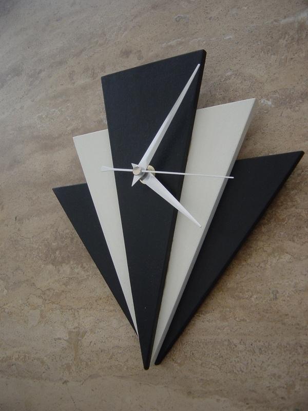 Art Deco Style Clocka Throughout Wall Deco Clock Prepare Regarding Art Deco Wall Clock (View 22 of 25)