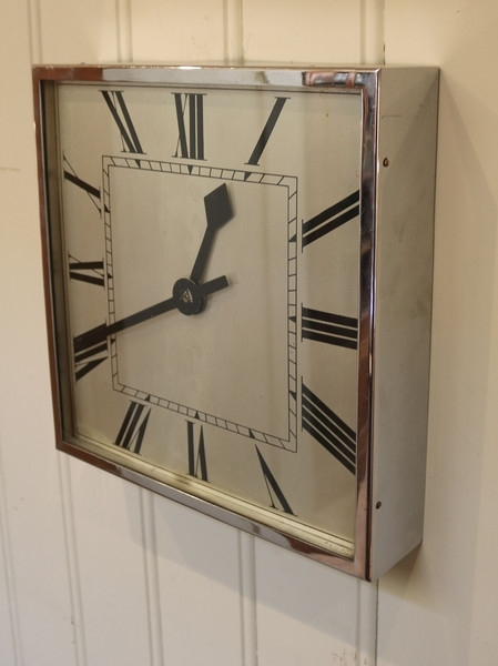 Art Deco Wall Clock (C (View 14 of 25)