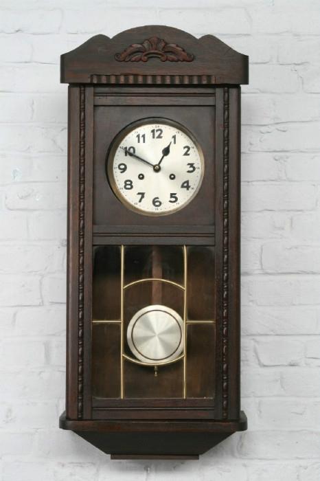 Art Deco Wall Clock – Clocks – Belgium Antique Exporters For Art Deco Wall Clock (View 12 of 25)