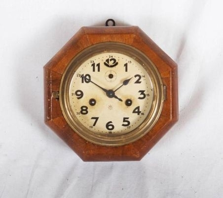 Art Deco Wall Clock From Junghans For Sale At Pamono Regarding Art Deco Wall Clock (View 15 of 25)