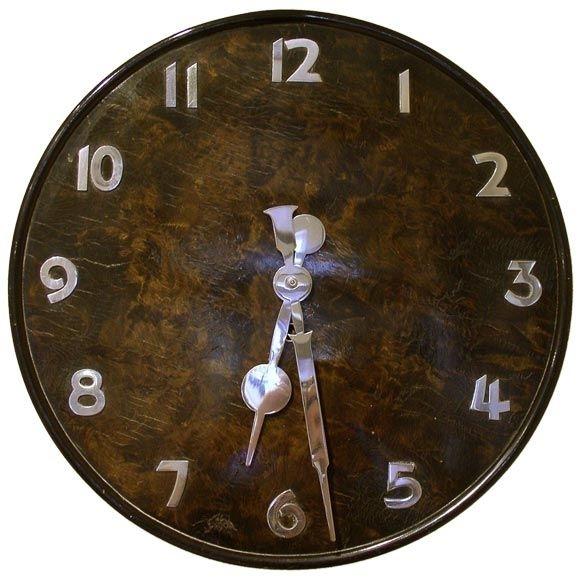 Art Deco Wall Clock | Pinterest | Deco Wall, Clocks And Art Deco With Regard To Art Deco Wall Clock (View 11 of 25)