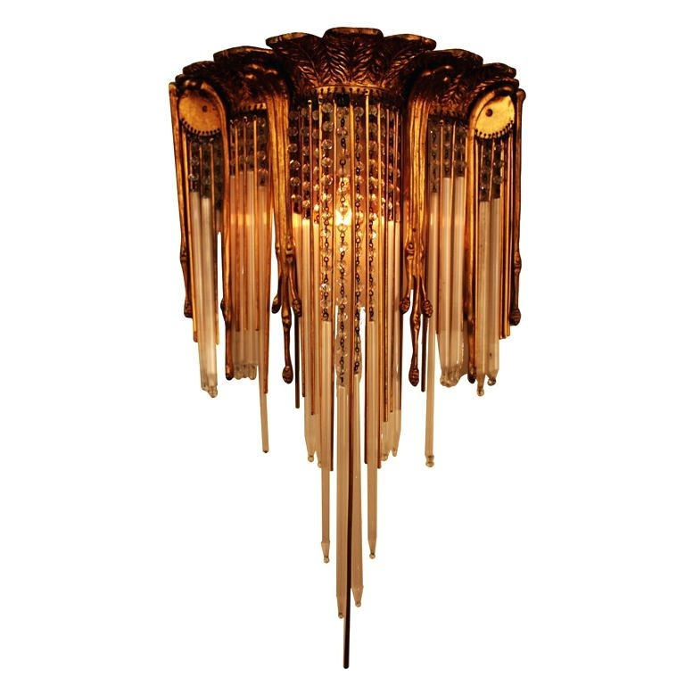 Art Deco Wall Sconce – Pixball Intended For Art Deco Wall Sconces (Image 6 of 25)
