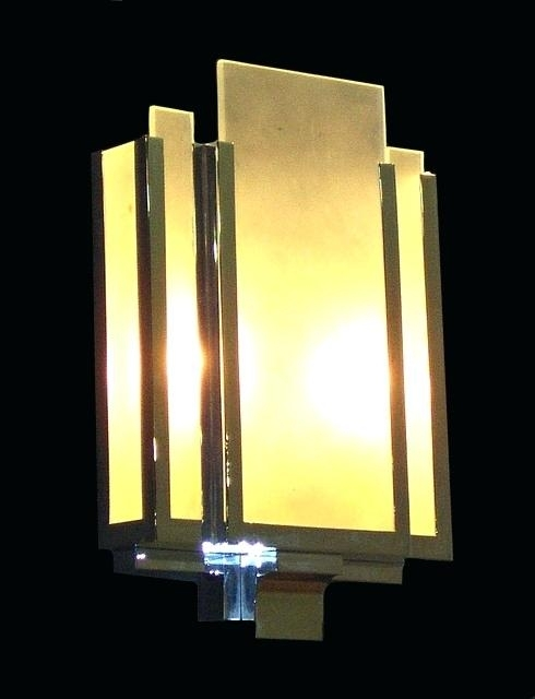 Art Deco Wall Sconces Antique Wall Sconces For Sale Art Deco Wall Throughout Art Deco Wall Sconces (Image 9 of 25)