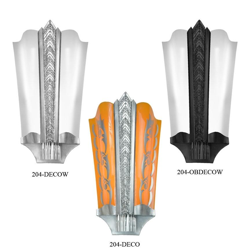 Art Deco Wall Sconces – Jeffreypeak Intended For Art Deco Wall Sconces (View 24 of 25)