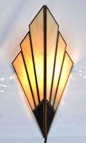 Art Deco Wall Sconces – Wall Lights 1930's Style | Interior Inside Art Deco Wall Art (Image 11 of 25)