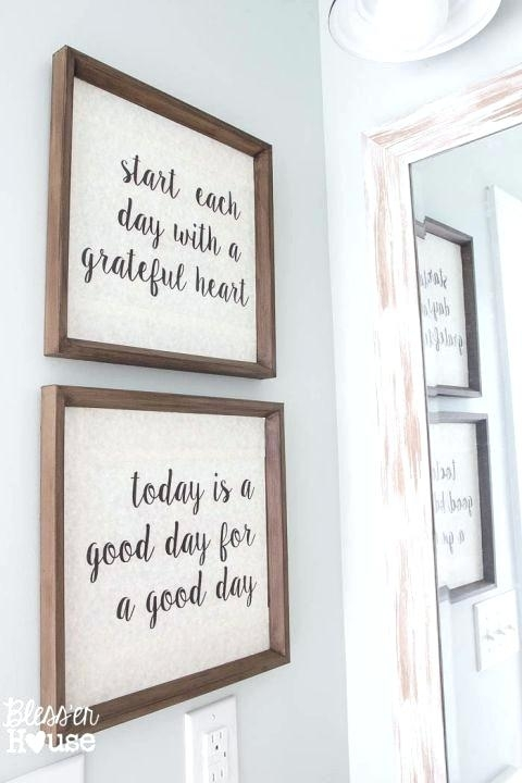 Featured Photo of Bathroom Wall Art Decors