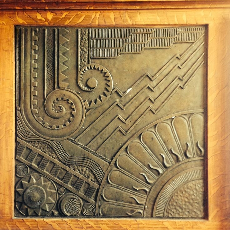 Art Nouveau Wall Dronemploy 8Baff9Ef646C For Deco Prepare 13 Throughout Art Deco Wall Art (View 23 of 25)