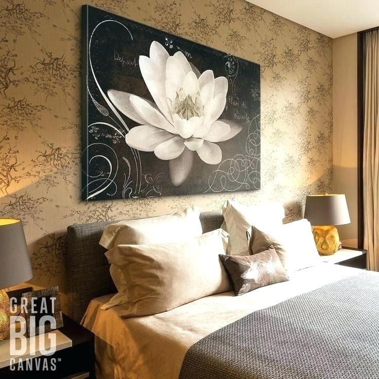 Art Print Floral Canvas Wall Prints Straw Flowers I – Balakirev Pertaining To Floral Canvas Wall Art (View 12 of 25)