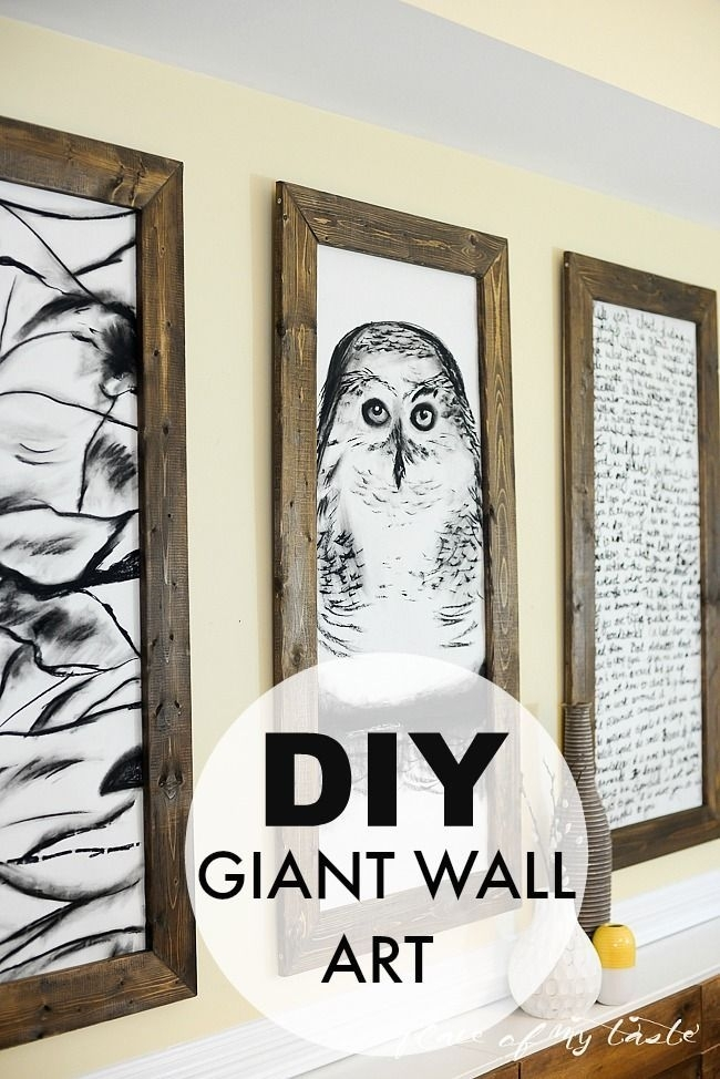 Art – The Thing That Makes Our Livesand Homes Beautiful | Pinterest With Giant Wall Art (View 3 of 25)