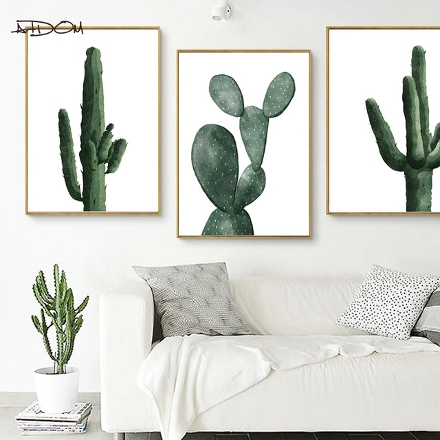 Featured Image of Cactus Wall Art