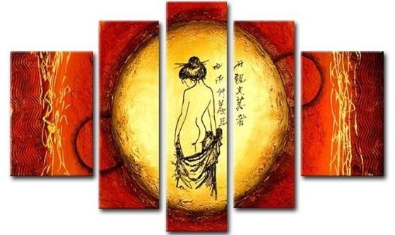 Asian Figure Canvas Wall Art – Cheap Asian Canvas Art In Asian Wall Art (View 3 of 10)
