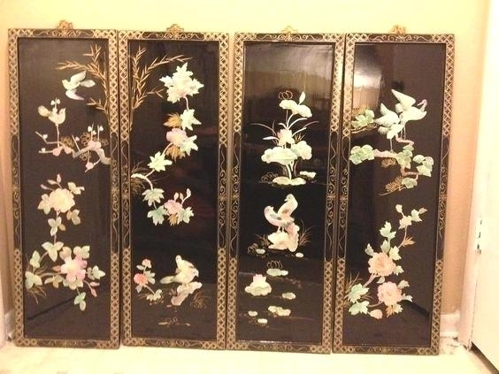 Asian Metal Wall Art Lovely Wall Decor Zoom Metal Wall Art Decor With Regard To Oriental Wall Art (View 7 of 25)