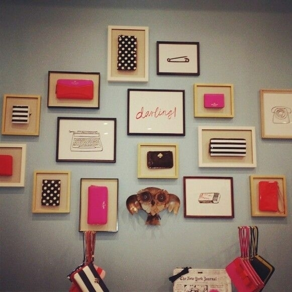 Attractive Kate Spade Wall Decor Interior Decorating Diy Rs (Image 1 of 20)