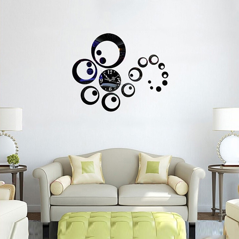 Aurelle Home Large Gold Circles Metal Art Wall Decor Free Shipping With Circle Wall Art (Image 5 of 25)