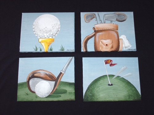 Austinartworks – Sports Wall Artfor Kids' Rooms Throughout Golf Canvas Wall Art (View 22 of 25)