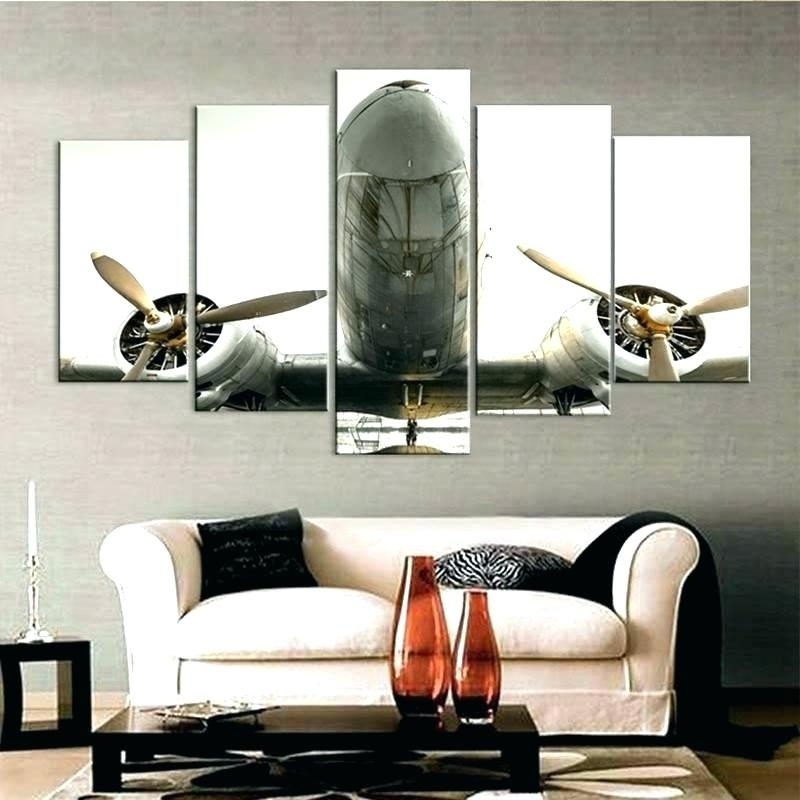 Aviation Wall Art Airplane Wall Art Air Turbine Canvas Print Within Aviation Wall Art (Image 10 of 25)