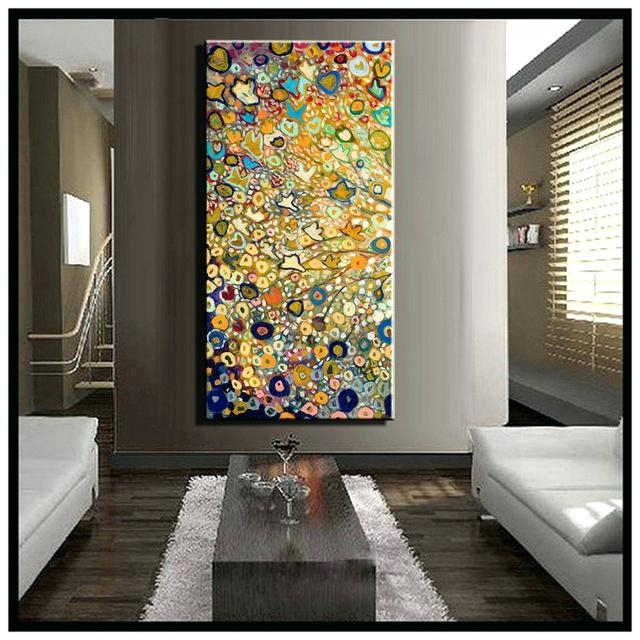 Awesome Abstract Canvas Wall Painting Modern Contemporary Art For Inside Large Canvas Painting Wall Art (View 19 of 25)