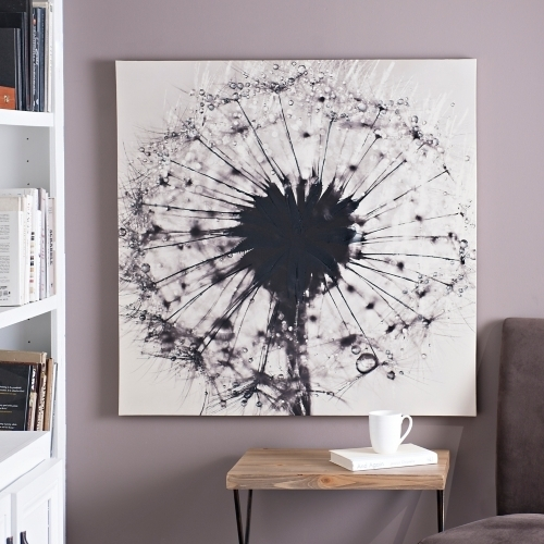 Awesome Dandelion Wall Art Home Decoration Ideas Decal Stickers Bed Within Dandelion Wall Art (Image 1 of 25)