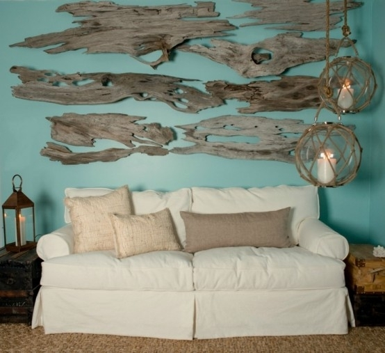 Awesome Design Tips Using Driftwood In Your Coastal Decor Inside Within Large Coastal Wall Art (Image 3 of 20)