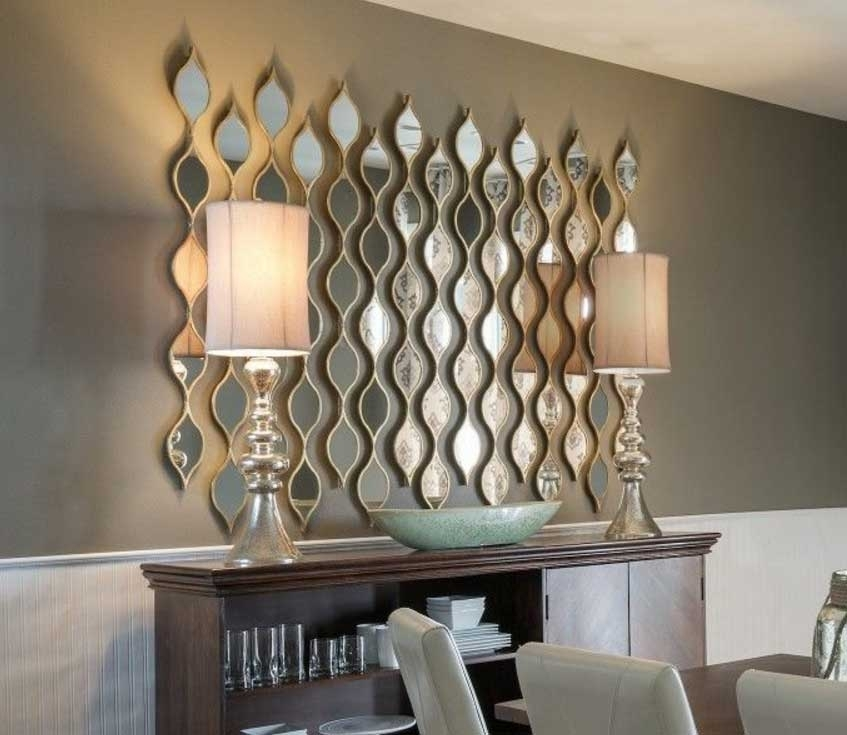 Awesome Mirror Wall Art Ideas In Various Of Design | Stonerockery For Mirror Wall Art (Image 5 of 10)