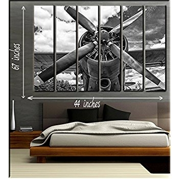 B Trend Airplane Wall Art – Wall Decoration Ideas With Airplane Wall Art (View 11 of 20)