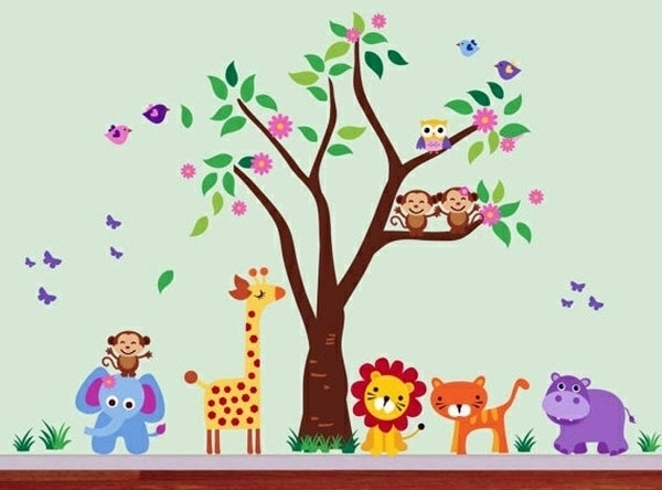 Baby Room Wall – 15 Wall Art Ideas With Animals | Interior Design With Regard To Baby Room Wall Art (Image 5 of 20)