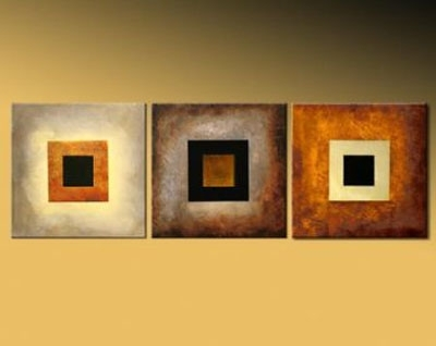 Back To Square One Modern Abstract Oil Canvas Painting Wall Art With For Modern Framed Wall Art Canvas (View 17 of 25)