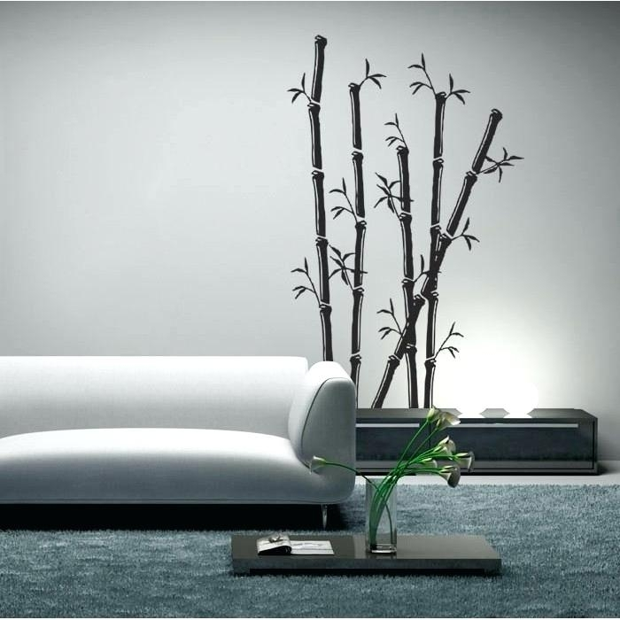 Bamboo Wall Art 3D Vinyl Decal – Beyondmeditation Pertaining To Bamboo Wall Art (Image 4 of 25)