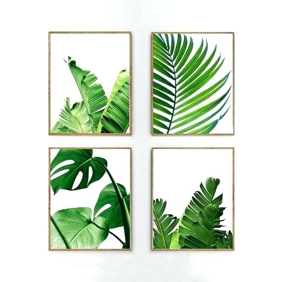 Banana Leaf Wall Art – Thefreethinker (Image 3 of 20)