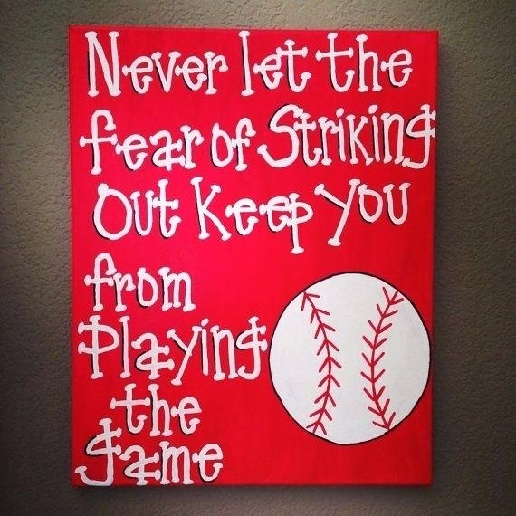 Baseball Wall Art S Ideas Vintage Canvas – Voxtv Pertaining To Baseball Wall Art (View 23 of 25)