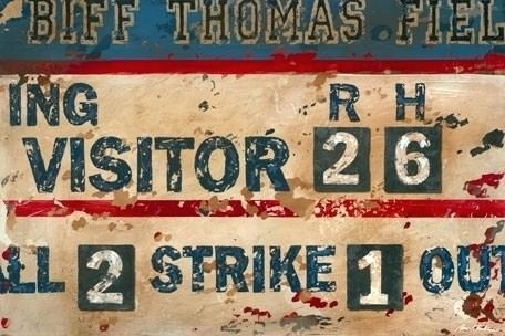 Baseball Wall Art Vintage Baseball Canvas Wall Art – Unplusun (View 15 of 25)