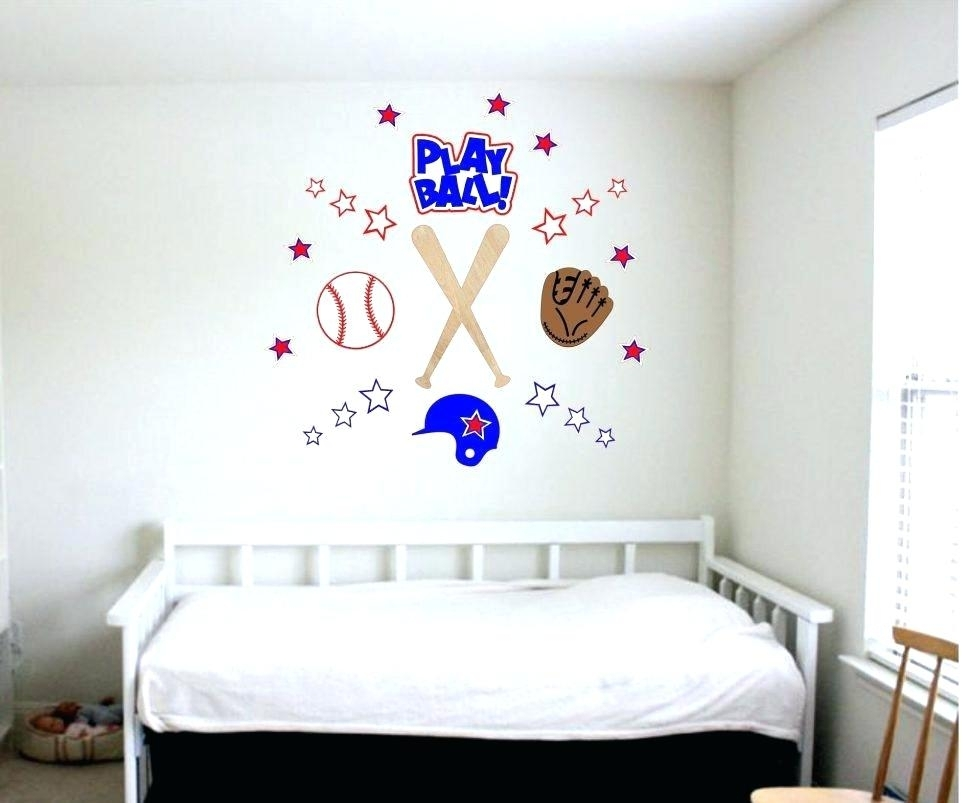 Baseball Wall Mural Baseball Wall Art Top Fabulous Baseball Wall With Baseball Wall Art (View 20 of 25)
