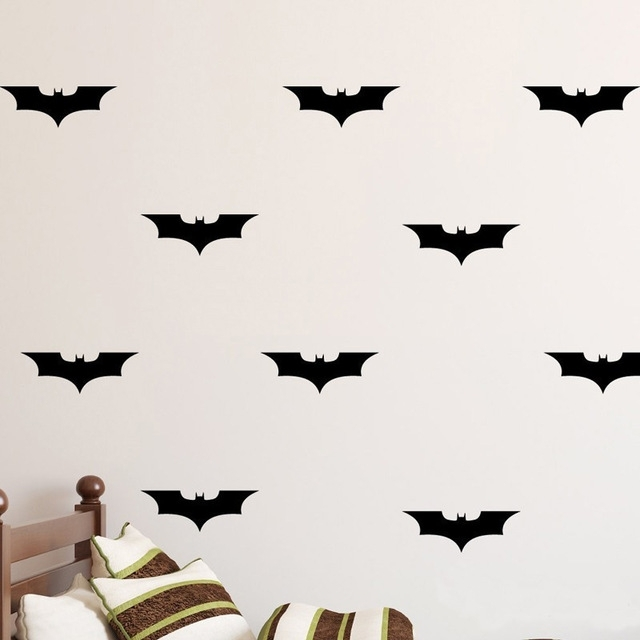 Batman Diy Wall Decal Wall Art Batman Decorations Vinyl Decal With Regard To Batman Wall Art (View 5 of 20)