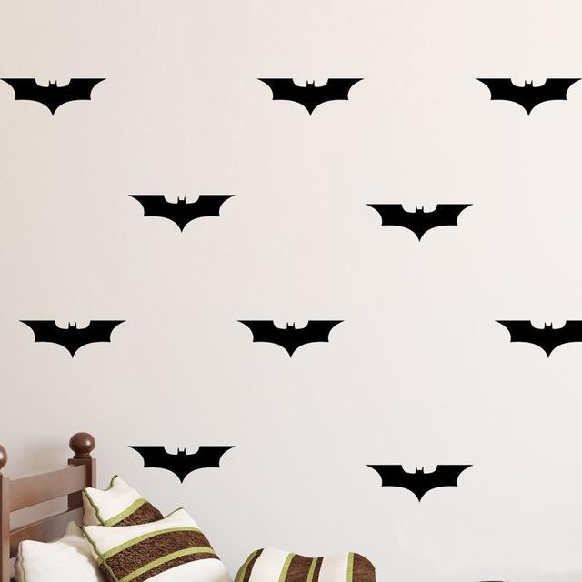 Batman Diy Wall Decal Wall Art Batman Decorations Vinyl Decal With Regard To Batman Wall Art (Image 6 of 20)